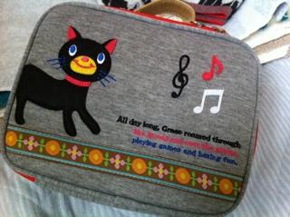 黒猫バッグ